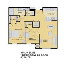Independent Living Floor Plan