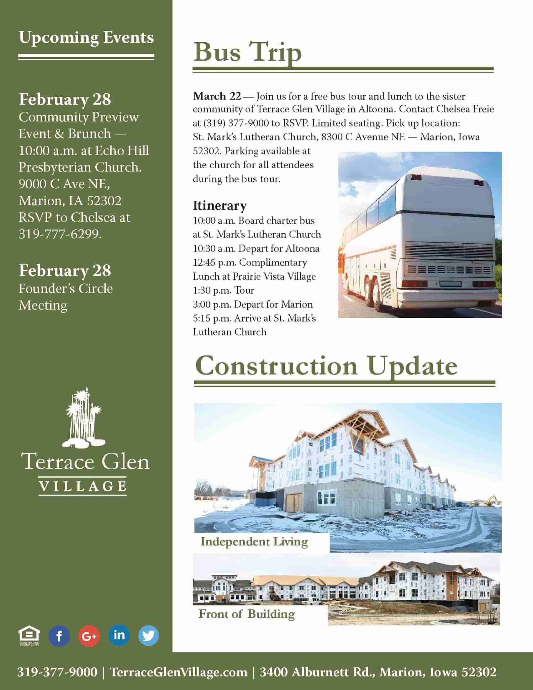 February Newsletter (Page 2)